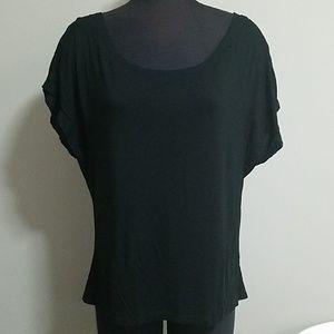 JHaus Black Short Sleeve Tee Shirt